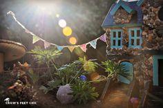 DIY Fairy House Garden Planter  Love it!