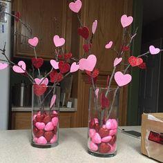 DIY Valentine's Day crafts; Valentine's Day gift ideas. #valentinesday #diyandcrafts #homedecor