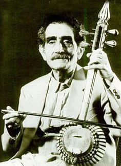 Ali asghar bahari, Old master music player ( kamancheh)