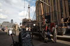 South Bank London - Ship by South Bank  #england #uk #europe #london #southbank #explore #travel #traveltherenext