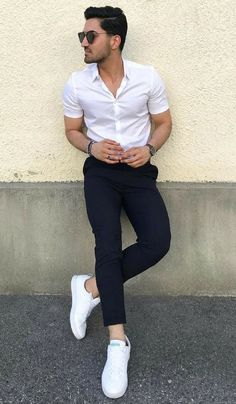 Semi formal outfit attire for men # formal Casual Outfits boys Semi Formal Attire For Men - Semi Formal Dressing Style For Men Outfit Hombre Casual, Outfits Casual, Stylish Mens Outfits, Mode Outfits, Casual Wear, Formal Attire For Men, Semi Formal Outfits, Formal Dresses For Men, Mens Fashion Semi Formal