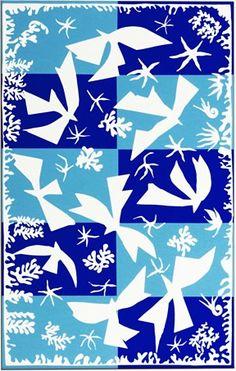 'Polynésie, le ciel' (Polynesia, the Sky) - Henri Matisse, 1946 Henri Matisse, Matisse Art, Painting & Drawing, Watercolor Paintings, Watercolor Artists, Abstract Paintings, Oil Paintings, Landscape Paintings, Matisse Cutouts