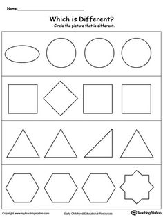 Identify the Item That Does Not Belong | Worksheets, Printable ...