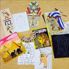 Egyptian Art Projects