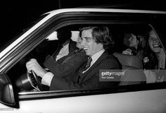 Michael Kennedy and Courtney Kennedy attend Pre-Dedication Party for the John F. Kennedy Library on October 19, 1975 at the University of Massachesetts in Dorchester, Massachusetts.