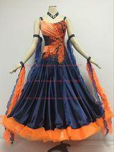 Костюмы для бальных танцев танцевальный конкурс Платья для женщин индивидуальный заказ Для женщин Костюмы для бальных танцев Танцы носить ...(China)