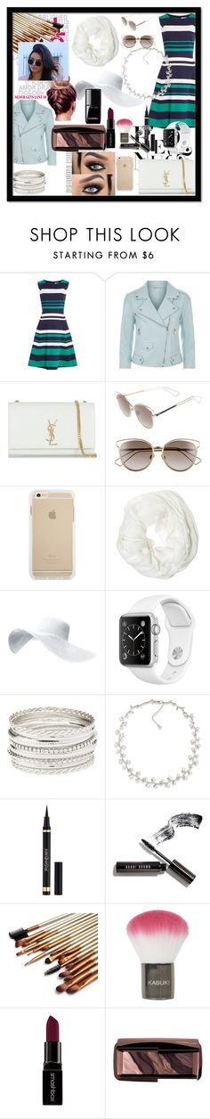"""""""Untitled #124"""" by sakura-grizzy ❤ liked on Polyvore featuring Dickins & Jones, Rebecca Minkoff, Balmain, Yves Saint Laurent, Christian Dior, Betsey Johnson, Charlotte Russe, Carolee, Bobbi Brown Cosmetics and Topshop"""