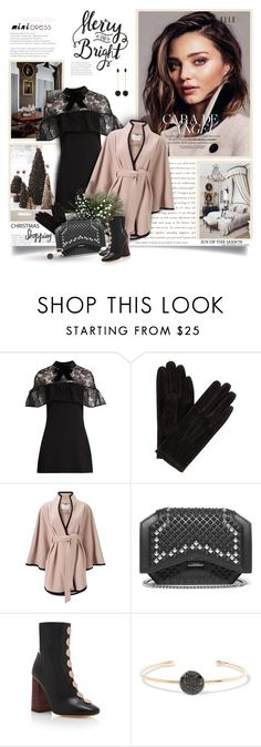 """""""The Mini Dress"""" by thewondersoffashion ❤ liked on Polyvore featuring self-portrait, John Lewis, Jacques Vert, Givenchy, E L L E R Y, Pomellato and Isabel Marant"""
