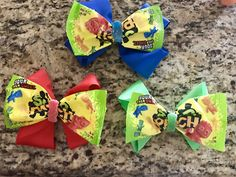 Sour Patch Kids Hairbows