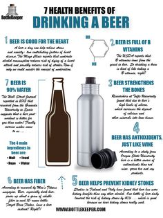 7 Health Benefits of Drinking a Beer – BottleKeeper