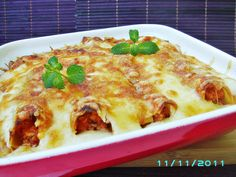 Cannelloni cu carne de pui Romanian Food, Food Hacks, Allrecipes, Lasagna, Healthy Recipes, Cooking, Ethnic Recipes, Anna, Pizza