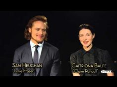 Here are four new interviews Sam Heughan & Caitriona Balfe did with Time Warner Cable - Favourite Episode From Season 1 Challenges Favourite Fan Enco...