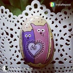 @waandalek_and_manki tez juz ze swoimi kamiennymi kociakami :) #unicatella…