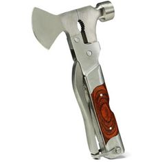 ThinkGeek :: Mo-Tool Wood Inlay Axe - WANNNNNTTTT