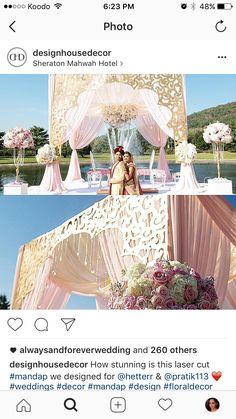 Open House Wedding Decor