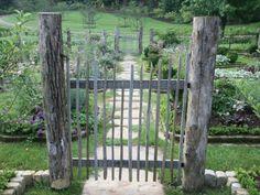 portillons de jardin en bois