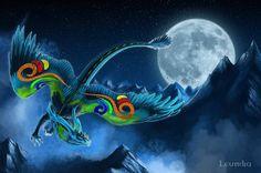 Forma de dragão da Stormy. Estória: Como Treinar o seu Dragão Interior 2
