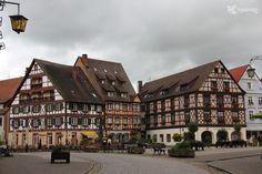 Gengenbach uma cidade de conto no sul da Alemanha