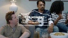 WATCH the VIDEO Lowe's swaps places with the dog watching the game - No Space TV commercial 2017 • Several friends are watching a football match, when one of the friends exchanges places with his dog, a friend accidentally pets his head. At this point, the host realizes that he has many friends, but not much space. Turning your garage into a fan cave