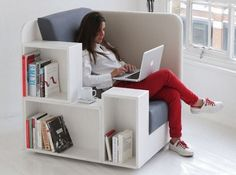 coolthings.com! open book lounge chair... hmmmm, maybe for nursing school?!? ;D
