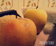 Dinner: apples!