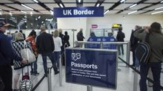 The home secretary says a work permit system is one of the options being considered to control immigration from the EU and accepts Britons may face travel restrictions.