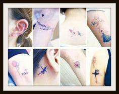 Immagini e significato piccoli tatuaggi femminili