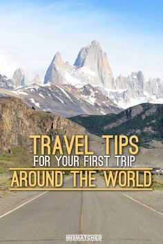 Planning your first trip around the world ? Check out our Travel Tips here:
