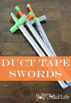Duct Tape Swords
