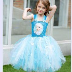 26.82$  Buy here - https://alitems.com/g/1e8d114494b01f4c715516525dc3e8/?i=5&ulp=https%3A%2F%2Fwww.aliexpress.com%2Fitem%2FHandmade-Girls-Anna-Elsa-Dress-Princess-Tutu-dress-Tulle-Elsa-Costume-Disfraces-Infantiles-Princesa-For-Girl%2F32657866672.html - Handmade Girls Anna Elsa Dress Princess Tutu dress Tulle Elsa Costume Disfraces Infantiles Princesa For Girl Christmas And Party 26.82$
