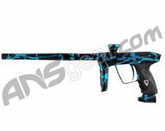 DLX Luxe 2.0 Paintball Gun - 3D Black/Teal