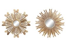 One Kings Lane - Radiant Flare - Sunburst Mirror Set