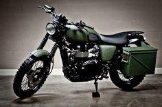 2010 Triumph Scrambler - Pipeburn - Purveyors of Classic Motorcycles, Cafe Racers & Custom motorbikes