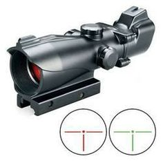 Bushnell Trophy Red Dot Sight 32mm Illuminated Red and Green 3 MOA T-Dot Reticle 1/4 MOAMatte Black Picatinny Mount 730132P