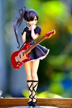 3d Figures, Action Figures, Anime Chibi, Manga Anime, Rocker Chick, Anime Toys, Anime Figurines, Figure Photography, Another Anime