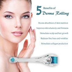 I love this Derma Roller! It made my skin so beautiful! http://www.amazon.com/Derma-Roller-Needling-needles-Guarantee/dp/B00NVSKKJY