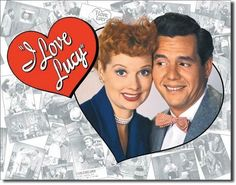 """I Love Lucy Desi Arnaz Vintage Sign Reproduction provides just the right accent for your home, business or any decorating project. Measures-16""""""""W x 12.25""""""""H Has holes in corners for easy hanging! Roll"""