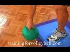 Increase Vertical Jump Workout | Training for Volleyball | Volleyball Workout - YouTube