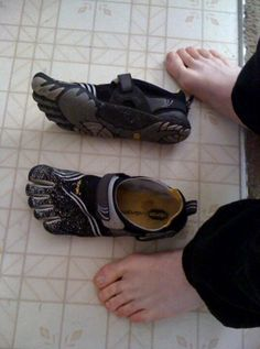 My son's shoes.