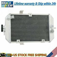 ALUMINUM ATV Radiator FOR YAMAHA Raptor 660 YFM660 YFM660R 2001-2005 02 03 04 05
