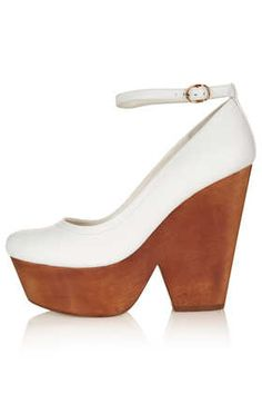 SACHA Wooden Platform Courts - View All - Heels  - Shoes