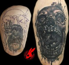 60 Amazing Cover Up Tattoos Pictures Before And After You Wont Believe That There was A Tattoo Hello! Tribal Tattoo Cover Up, Forearm Cover Up Tattoos, Owl Tattoos On Arm, Cover Up Tattoos For Men, Black Tattoo Cover Up, Cover Tattoo, Skull Tattoos, Sleeve Tattoos, Tattoos For Guys