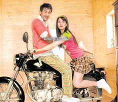 .. Bollywood Couples, Katrina Kaif, Gym Equipment, Bike, Awesome, Bicycle Kick, Trial Bike, Bicycle, Workout Equipment