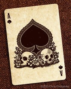 Playing Cards on Pinterest | Ace Of Spades, Queen Of and Queen Of ...