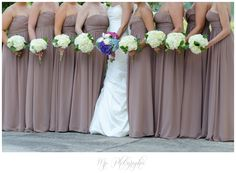 Various styles in Champagne Crinkle Silk Chiffon | Bridesmaid ...