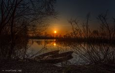 Sunset in the marshes by riccardo lubrano on 500px