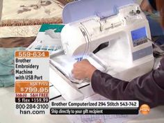Brother Embroidery Machine with USB Port (+playlist) Tweedehands Oktober 2011 Brother Embroidery Machine, Machine Embroidery Applique, Hand Embroidery Stitches, Custom Embroidery, Embroidery Files, Embroidery Machines, Diy Embroidery For Beginners, Hand Lettering For Beginners, Embroidery On Clothes