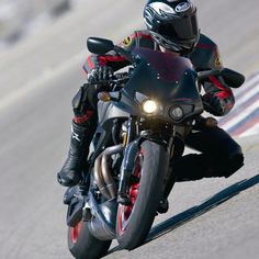 Black and red Buell XBR Firebolt. Awesome thing!