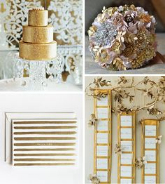 All that Glitters is Gold… | WeddingWire: The Blog