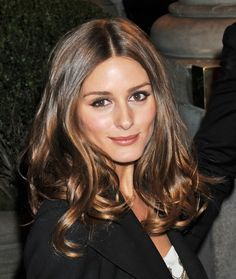 Olivia Palermo. Hair color